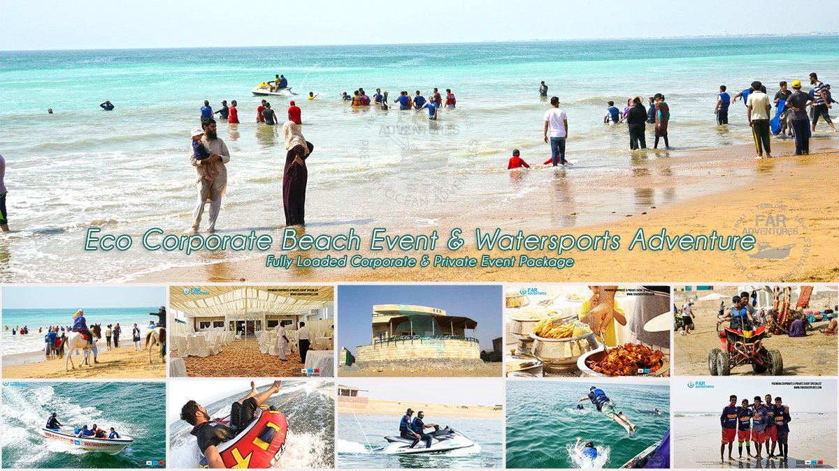 Eco Corporate Beach Event & Watersports Adventure
