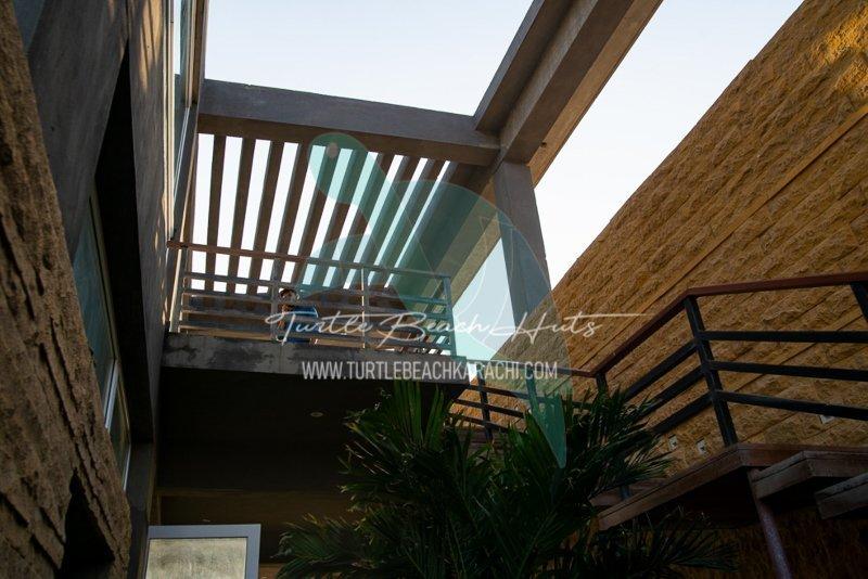 Luxury Beach Hut on Rent at Turtle Beach Karachi - TB1