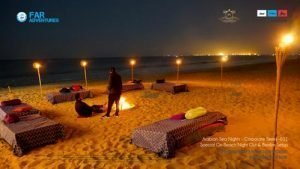 WINTER ARABIAN THEMED NIGHT BEACH CHILL PARTY