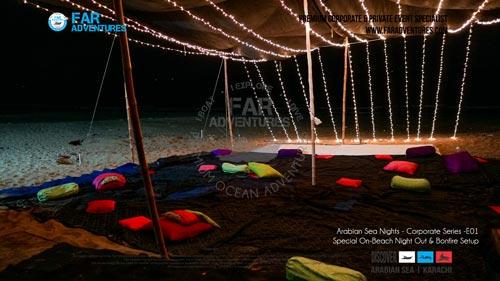 WINTER ARABIAN THEMED NIGHT BEACH CHILL PARTY