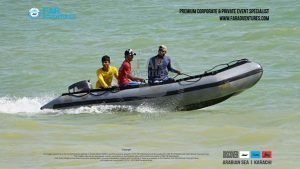 Hire Low Speed - Rubber Boat