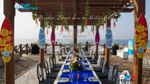 Exclusive Beach Setup | Corporate Dayout Beach Event Setup | Family Private Event