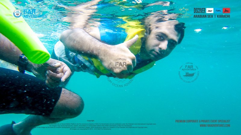 Snorkeling Session at Churna Island