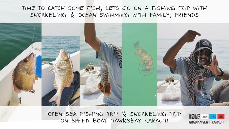 A FISHING TRIP WITH SNORKELING & OCEAN SWIMMING