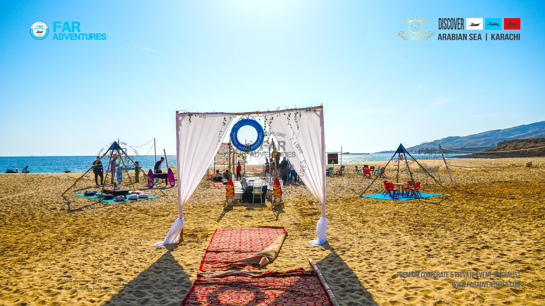 THE GRAND PREMIUM BEACH SWANK PARTY | BOATING, CAMPING, DINNER, MOVIE NIGHT